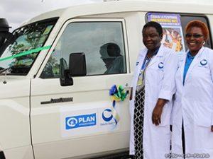 タンザニアにおける第一三共の移動診療サービス