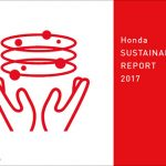 「Honda SUSTAINABILITY REPORT 2017」表紙