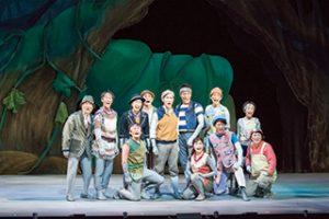 『ガンバの大冒険』舞台の様子