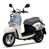 実証実験用レンタルEVバイク (ヤマハ E-Vino)