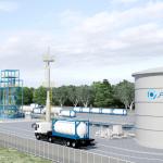 ブルネイ水素製造及び水素化プラント完成予想図