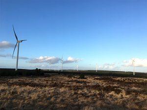エヴァレイアー社の風力発電所
