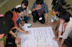 第1回2010 年(ベトナム) テーマ:「生物多様性」 日本の大学生25名がハノイ、ホーチミンの大学生と交流