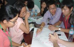 第2回 2011年(ベトナム) テーマ:「持続可能な開発」 日本、タイ、ベトナムの大学生90名が参加