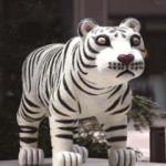 三沢厚彦「Animal 2012-01B」2015年制作 作家所蔵 (丸ビル前)
